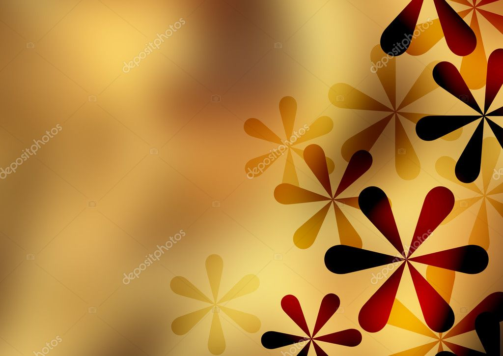 The pattern of a visionary flower  Stock Photo #10521081