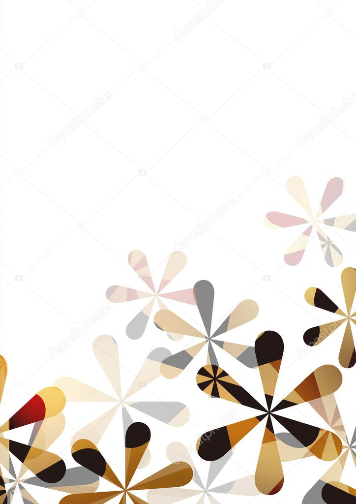 The pattern of a visionary flower — Stock Photo #10521082