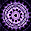 Royalty-Free Stock Photo: Violet mandala