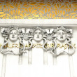 Stock Photo: Gorgons from Secession building in Vienna