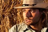 Tuff cowboy — Stockfoto