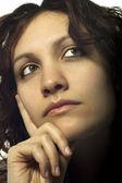 Thinking Woman — Stock Photo