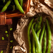 Broad Bean Pods - Foto Stock