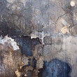Ruined Painted Wall Texture - Stock Photo