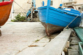 Boat on Harbour — Stock Photo