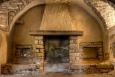 Old Fireplace — Stockfoto