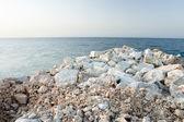 Stones on the Coast — Stock Photo