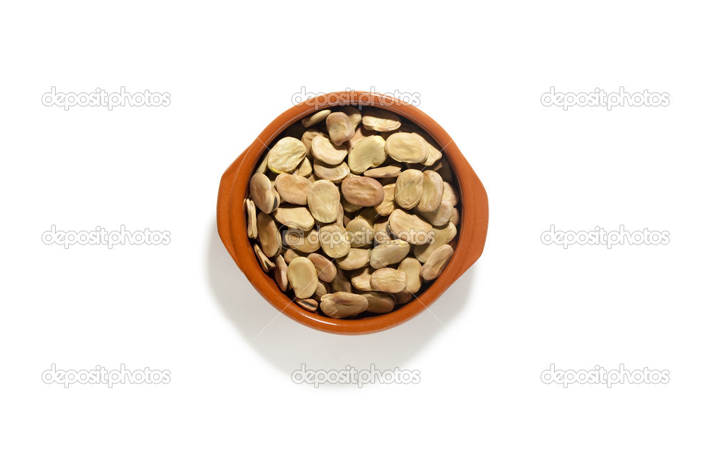 Bowl with Broadbeans — Stock Photo #10800470