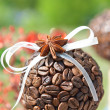 Coffee marble with an anise — Stock Photo #10457074