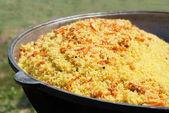 East dish. Pilau. — Stock Photo