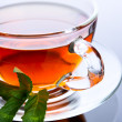 Stock Photo: Cup of black tea