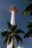KL Tower in Kuala Lumpur — Stock Photo