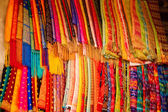 Colourful fabrics for sarong, Bali — Stock Photo