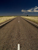Outback road of Australia — Stock Photo