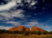 Kata Tjuta in Australia — Stock Photo