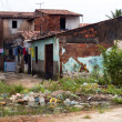 Favela: poverty and neglect — Foto Stock