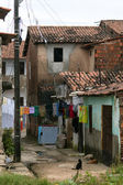 Favela: poverty and neglect — Stock Photo