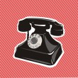 Old telephone — Stock Vector #10433762