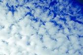 Magical blue heaven. — Stock Photo