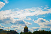 Summer landscape, Isaac's Cathedral. — Stock Photo