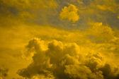 Magical yellow heaven. — Stock Photo