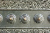 Bronze door detail from the Blue Mosque, Istanbul, Turkey — Stock Photo