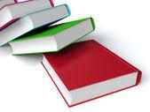 Livros coloridos — Foto Stock