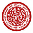Best seller stamp — Stock Photo