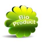 生物产品图标 — 图库照片