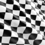 Racing Flag — Stock Photo