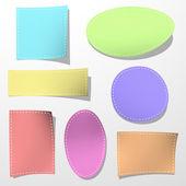 Color paper sticker — ストック写真