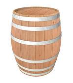 Dřevěný sud — Stock fotografie