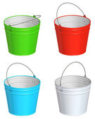 Color bucket — Stock Photo