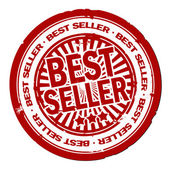 Best seller stamp — Stockfoto