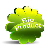 Bio product icon — Stock Photo