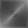 Steel perforated metal panel — Stock Photo