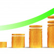 Financial growth — Stock Photo