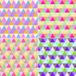 Colored geometric patterns — Stock Photo #10442711