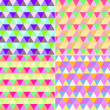 Colored geometric patterns — Stock Photo
