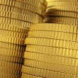 Golden coins stack — Stock Photo #10442724
