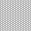 Hexagon background texture — Foto Stock