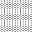 Stock Photo: Hexagonal texture