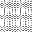 Hexagonal texture — Stock Photo