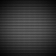 Royalty-Free Stock Photo: Perforated black metal