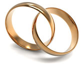Two Golden Ring — Stock Photo