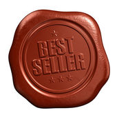 Best seller seal — Stockfoto