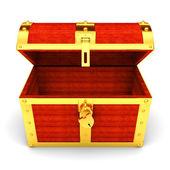 Treasure chest — Foto de Stock