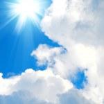 Sky and sun — Stock Photo #10558593