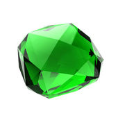 Green gemstone — Stock Photo