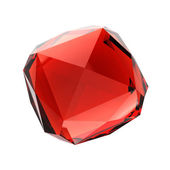 Red gemstone — Stock Photo
